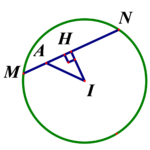 cho đường tròn ((c):;x^2+y^2+4x 6y+5=0). Đường thẳng d đi qua a(3;2) và cắt (c) theo một dây cung ngắn nhất có phương trình là 60a235eb3741c.png