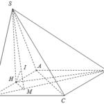 cho hình chóp s.abcd có đáy abcd là hình vuông cạnh a, (sd=frac{3a}{2}). hình chiếu vuông góc của điểm s lên mặt phẳng đáy là trung điểm của cạnh ab. tính khoảng cách từ điểm a đến mặt phẳng (left( sbd right)). 60a2317923306.png