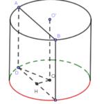 khi cắt khối trụ (left( t right)) bởi một mặt phẳng song sog với trục và cách trục của trụ (left( t right)) một k 6097a2b2f16b0.png