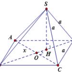 khối chóp s.abcd có đáy abcd là hình thoi cạnh a. sa=sb=sc=a, cạnh sd thay đổi. thể tích lớn nhất của khối chóp s.abcd là: 60a22f2b634e0.png