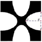 một hoa văn trang trí được tạo ra từ một miếng bìa mỏng hình vuông cạnh bằng 10 cm bằng cách khoét đi bốn phần bằng nhau có hình dạng parabol như hình bên. biết ab = 5 cm, oh = 4 cm. tính diện tích bề mặt hoa văn đó. 6098e88205123.png