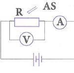 trong sơ đồ hình vẽ bên, r là 1 quang điện trở, as là ánh sáng kích thích 60b25752d2bff.png